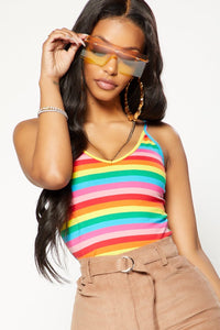 Full Of Color Tank Top - Multi