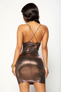 Main Chick Dress - Bronze
