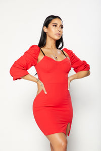 Scarlet Dress - Red