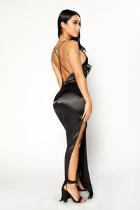 Perfect Night Dress - Black