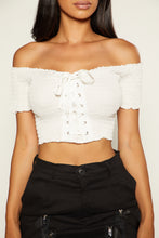 Jay Ten Crop - White
