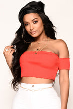 Slay It Crop Top - Red