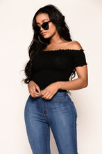 To Slay or Nah Top - Black