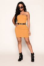 Ryan Tube Dress - Amber
