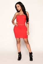 Ryan Tube Dress - Red