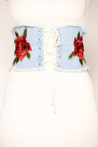 Bed of Roses Belt - Light