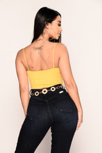 Taryn Crop Top - Yellow
