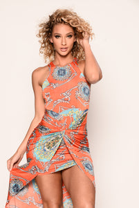 Perry Dress - Orange