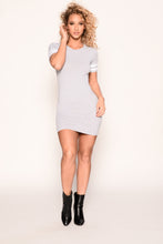 Game Day Dress - Heather Grey