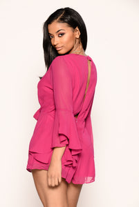Shay Romper - Berry