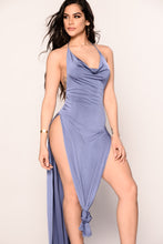 Simply Sleek Dress - Shadow Blue