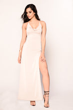 Simply Sleek Dress - Nude