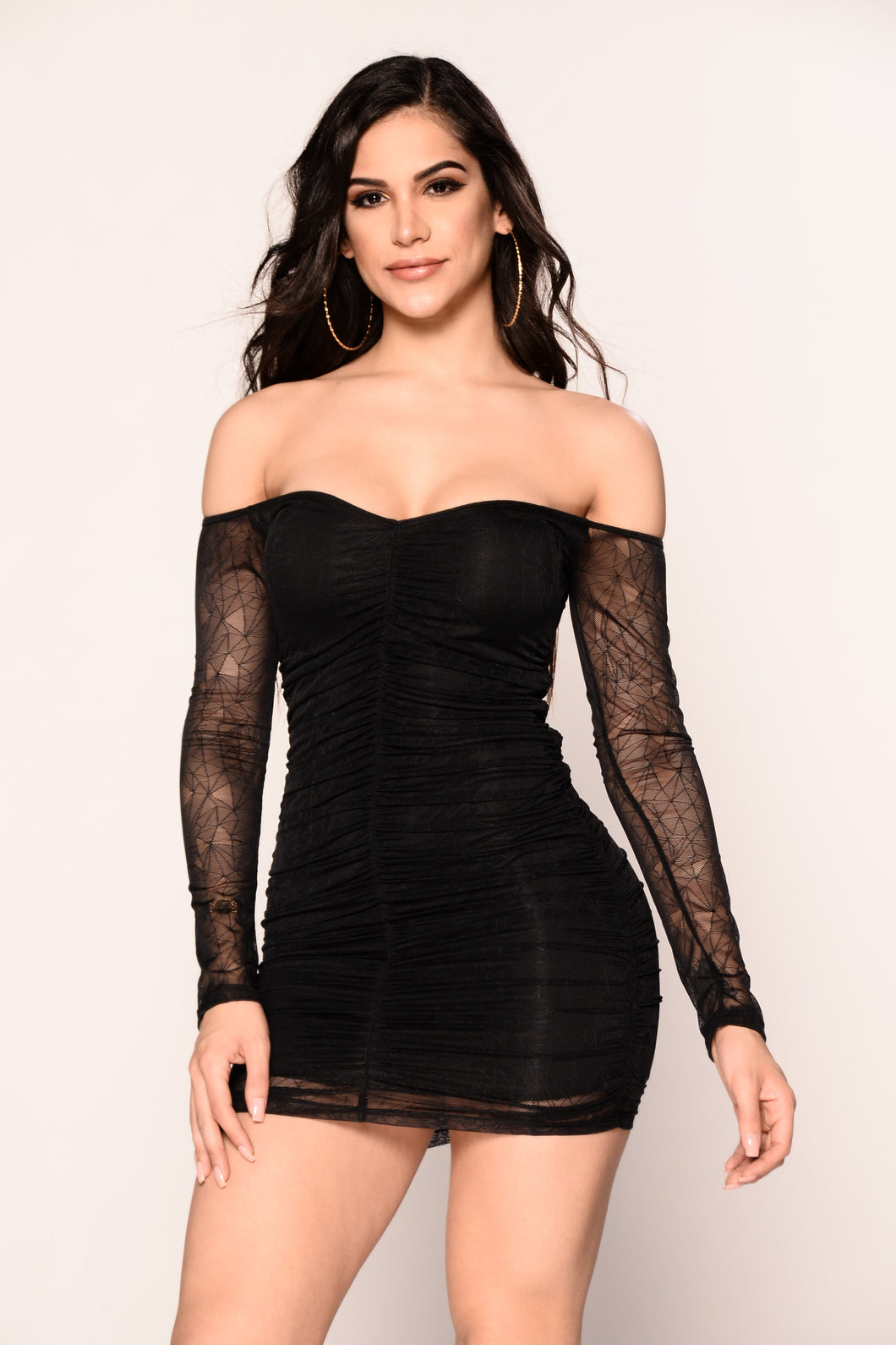 Glow Up Dress - Black