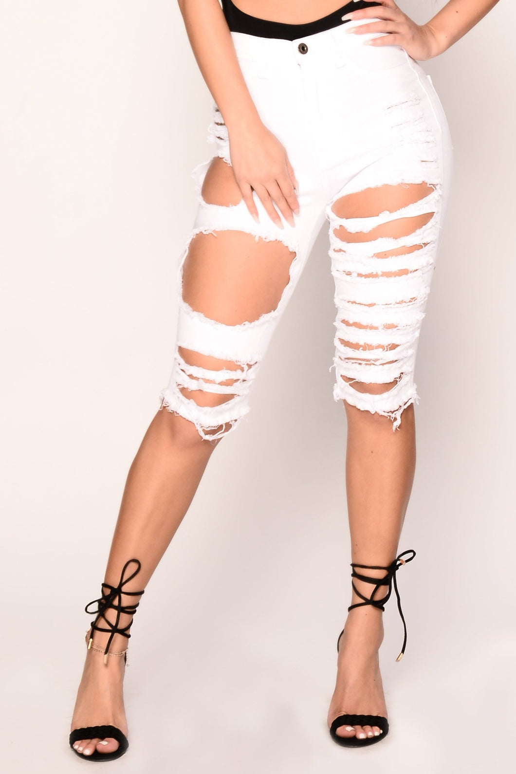 Ashanti Shorts - White