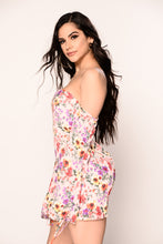 Lucy Floral Dress - Pink