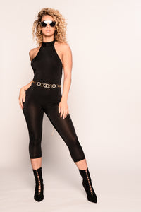 Rylee Jumpsuit - Black