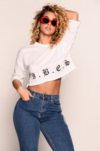 Givin' Me Vibes Top - White