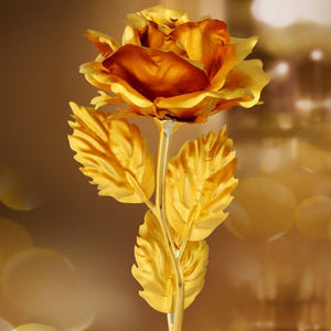 Gold Rose Wedding Decoration