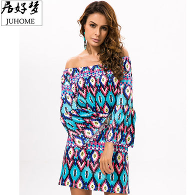 96b77b9ebea Hot Sale runway dresses 2017 women high quality vintage fashion Summer  Sundress Women s beach Tunic hippie