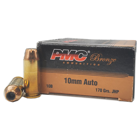 10mm - PMC Bronze 170 Grain Jacketed Hollow Point