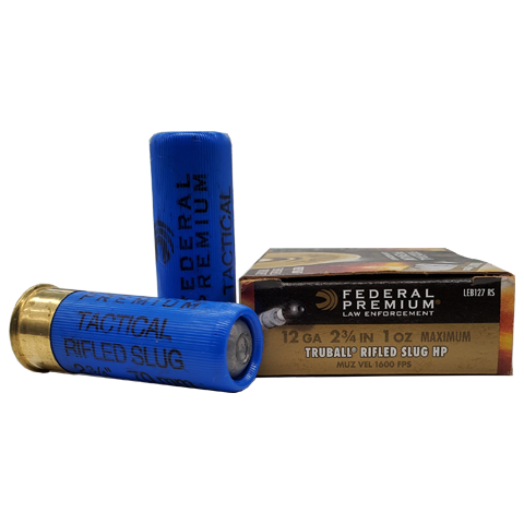"12 Gauge - Federal Premium 2 3/4"" 1 oz. Truball Rifled Slug"