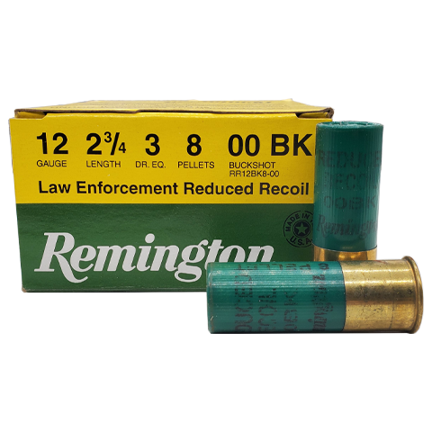 12 Gauge - Remington LE Reduced Recoil 00 Buck