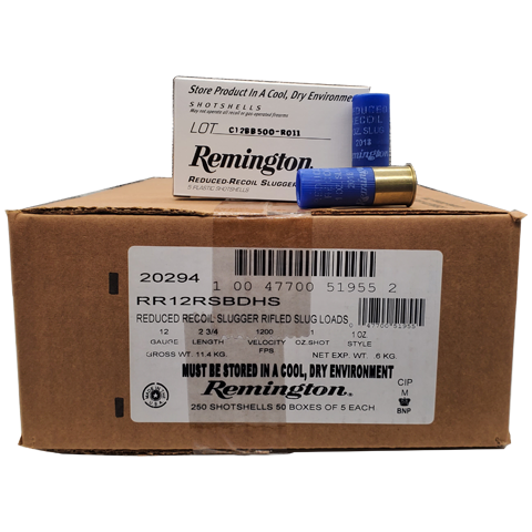 "12 Gauge - Remington Slugger 2-3/4"" 1oz. LE Slug"