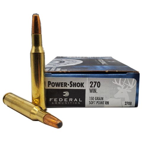 270 Win - Federal 150 Grain Power-Shok Soft Point