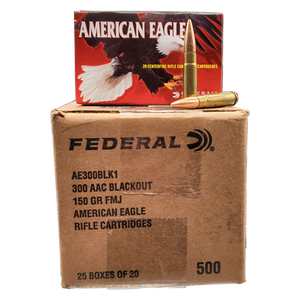 300 Blackout - Federal AE 150 Grain FMJ BT