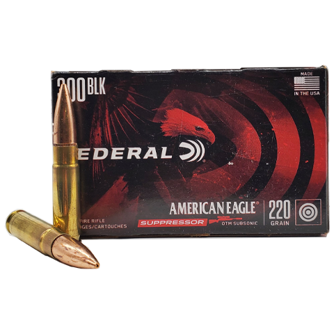 300 Blackout - American Eagle Suppressor 220 Grain OTM