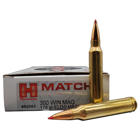 300 Win Mag - Hornady 178 Grain ELD Match