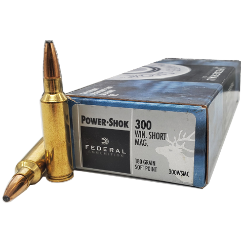 300 WSM - Federal Power-Shok 180 Grain Soft Point