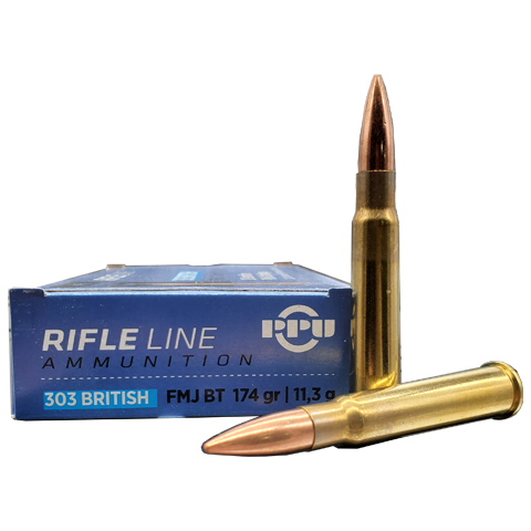 303 British - PPU 174 Grain FMJ