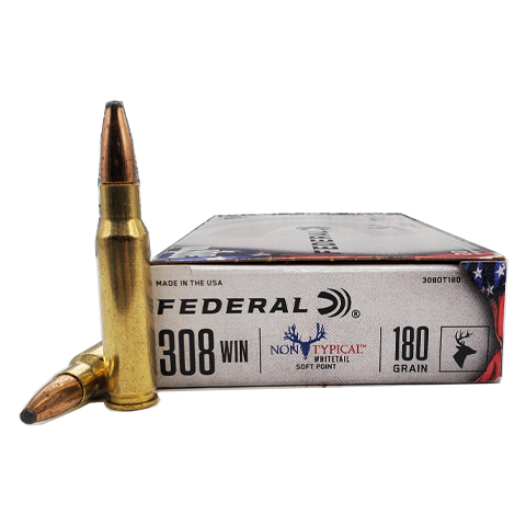 308 Win - Federal Non-Typical White Tail 180 Grain SP