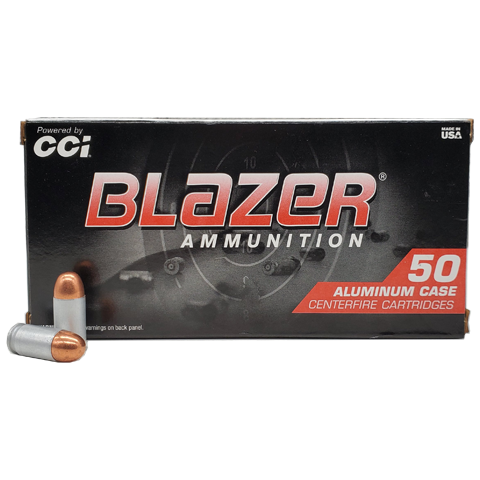 380 Auto - CCI Blazer Aluminum 95 Grain Full Metal Jacket