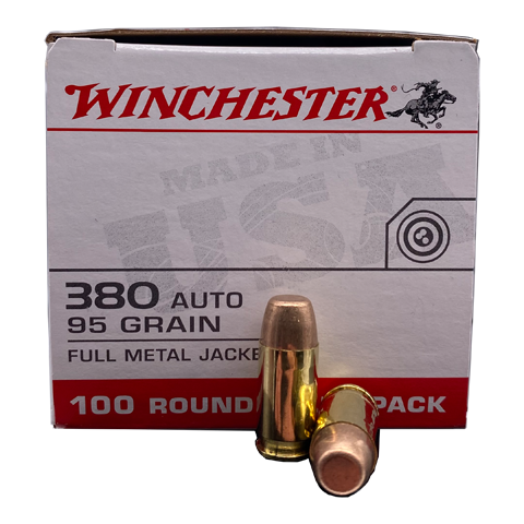 380 Auto - Winchester Value Pack 95 Grain FMJ