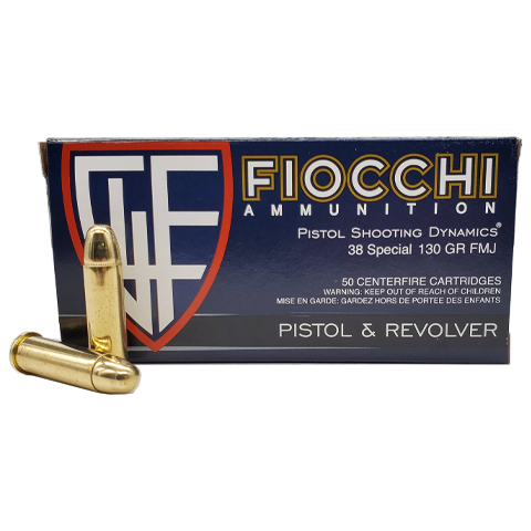 38 Special - Fiocchi Shooting Dynamics 130 Grain FMJ