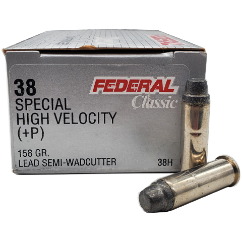 38 Special - Federal Classic 158 Grain +P Semi-Wadcutter