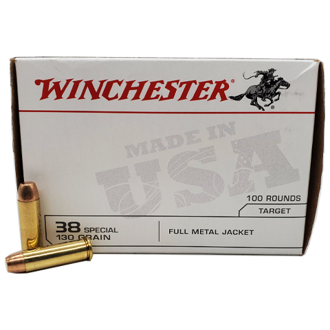 38 Special - Winchester 130 Grain FMJ Value Pack