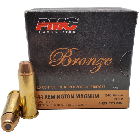 44 Magnum - PMC Bronze 240 Grain Truncated Soft Point