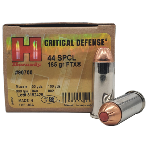 44 S&W Special - Hornady Critical Defense 165 Grain FTX
