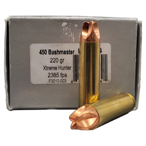 450 Bushmaster - Underwood 220 Grain Xtreme Hunter