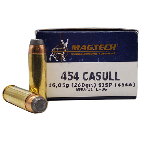 454 Casull - Magtech 260 Grain Semi Jacketed Soft Point