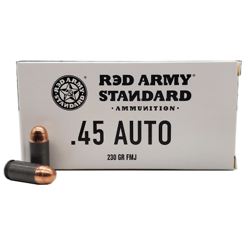 45 Auto - Red Army Standard 230 Grain FMJ