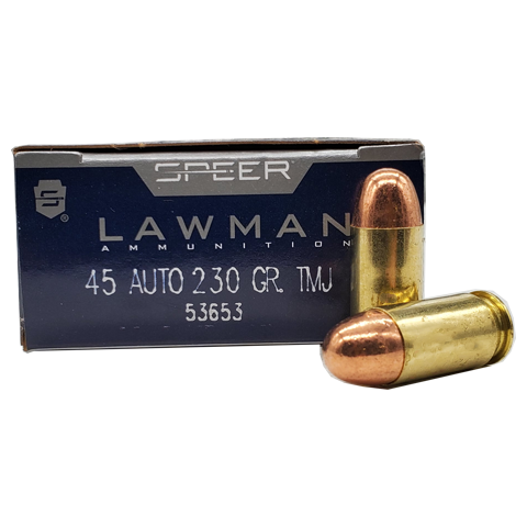 45 Auto - Speer Law Man 230 Grain TMJ