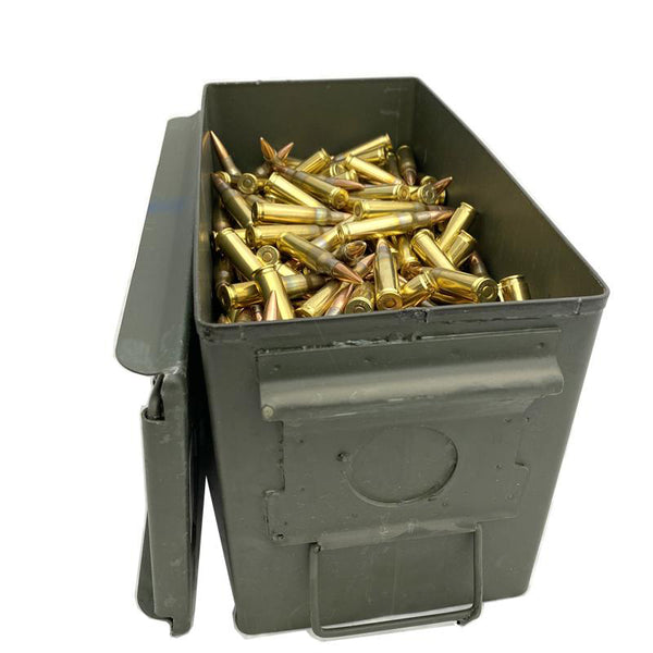 7.62x51 NATO - Lake City M80 Ball 149 Gr. FMJ 500 rd. Can
