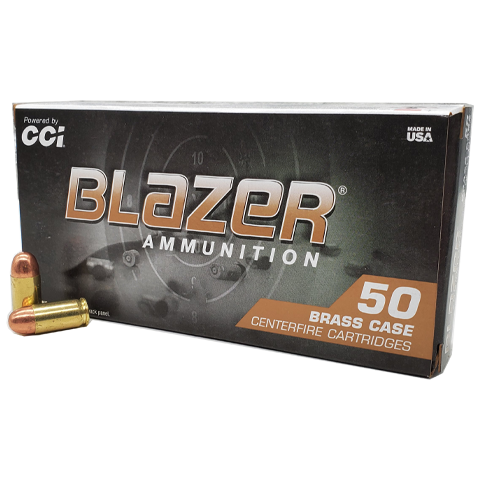 380 Auto - CCI Blazer Brass 95 Grain Full Metal Jacket