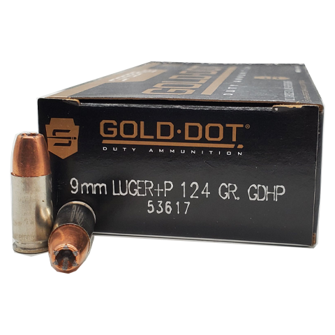 9mm - Speer Gold Dot 124 Grain +P JHP
