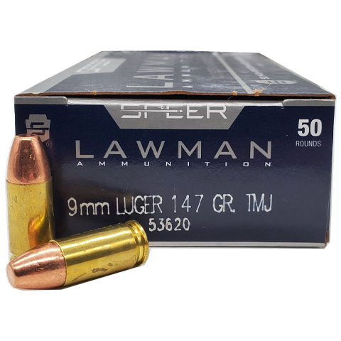 9mm - Speer Lawman 147 Grain Full Metal Jacket