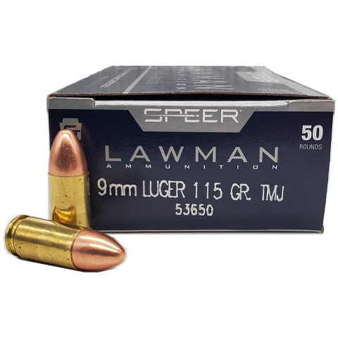 9mm - Speer Lawman 115 Grain Full Metal Jacket